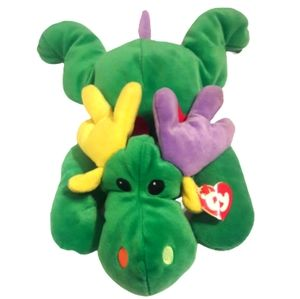 3for$20 Ty Baby Antlers the Green Moose Pillow PAL